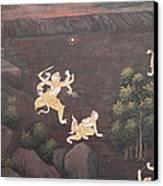 Mural - Grand Palace In Bangkok Thailand - 011312 Canvas Print