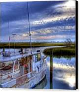 Murrells Inlet Morning Canvas Print