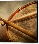 Music - Drum - Cadence  Canvas Print