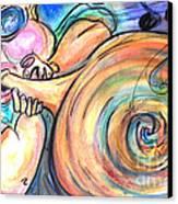 Music Music Music Canvas Print by M C Sturman