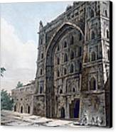 Musjid At Jaunpur Canvas Print