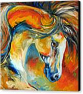 Mustang West Canvas Print