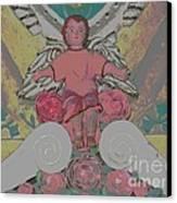 My Angel - Eglise De Sainte Anne - Church - Ile De La Reunion - Reunion Island Canvas Print by Francoise Leandre