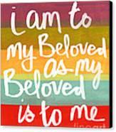 My Beloved Canvas Print by Linda Woods