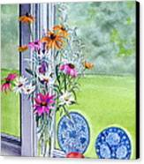 My Kitchen Window Canvas Print
