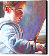 My Little Mozart Canvas Print by Lynda Robinson