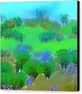 My Morning Window View Canvas Print
