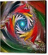 My My Beautiful Laundrette-fractal Art Canvas Print by Karin Kuhlmann