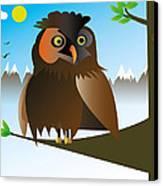 My Owl Canvas Print by Kenneth Feliciano