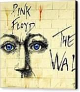 My Pink Floyd Wall Canvas Print by Todd Spaur