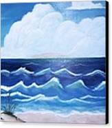 My Private Beach Canvas Print by Dwayne Barnes