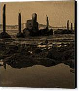 My Sea Of Ruins IIi Canvas Print by Marco Oliveira