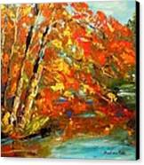 My Side Of The River Canvas Print by Barbara Pirkle