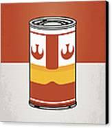 My Star Warhols Luke Skywalker Minimal Can Poster Canvas Print