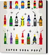 My Super Soda Pops No-00 Canvas Print by Chungkong Art