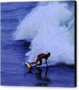 My Wave Canvas Print by Ron Regalado
