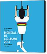 My World Championships Minimal Poster Canvas Print by Chungkong Art