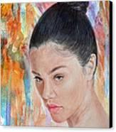 Myra Molloy Winner Of Thailand Got Talent II Canvas Print by Jim Fitzpatrick