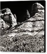 Mysteries In Sedona Canvas Print by John Rizzuto