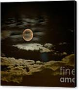 Mysterious Moon Canvas Print by Boon Mee