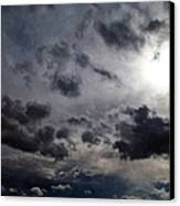 Mystery Of The Sky Canvas Print by Glenn McCarthy Art and Photography