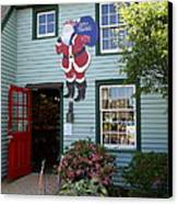 Mystic Christmas Shop - Connecticut Canvas Print by Christiane Schulze Art And Photography