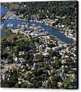 Mystic, Maine Canvas Print by Dave Cleaveland