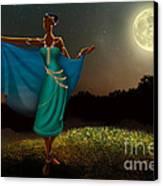 Mystic Moonlight V1 Canvas Print by Bedros Awak