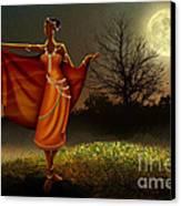 Mystic Moonlight V2 Canvas Print by Bedros Awak