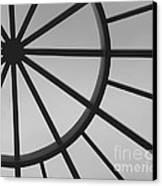 Mystic Wheel  Canvas Print