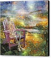 Mystical Sam On Topsail Canvas Print