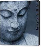 Namaste Buddha Canvas Print by Dan Sproul