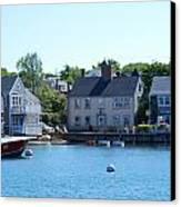 Nantucket Harbor Canvas Print