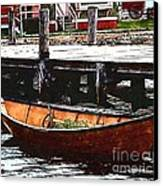 Nantucket Sleigh Ride Whaleboat Canvas Print