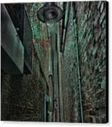 Narrow Street Canvas Print