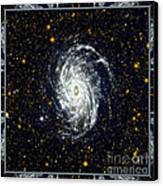 Nasa Big Brother To The Milky Way Canvas Print