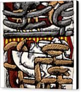 Nassau Junkanoo 2 Canvas Print by Philip Slagter