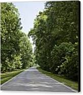 Natchez Trace Parkway In Cobert County Canvas Print by Carol M Highsmith