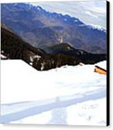 Nathatop- Jammu And Kashmir- Viator's Agonism Canvas Print by Vijinder Singh