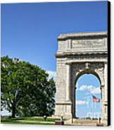 National Memorial Arch At Valley Forge Canvas Print