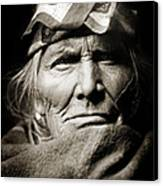 Native American Zuni -  Si Wa Wata Wa  Canvas Print by Jennifer Rondinelli Reilly - Fine Art Photography