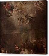 Nativity Of Mary Canvas Print by Andrea Celesti