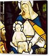 Nativity Canvas Print by Robert Anning Bell