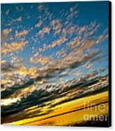 Nature Grasping Canvas Print by Q's House of Art ArtandFinePhotography