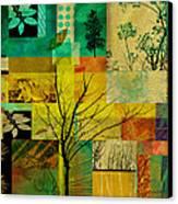 Nature Patchwork Canvas Print