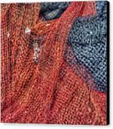 Nautical Nets Canvas Print by Heidi Smith