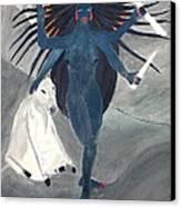 Nava Durga Kaalraatri Canvas Print