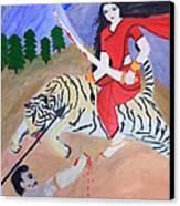 Nava Durga Kaatyayani Canvas Print