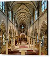 Nave Iv Canvas Print by Dick Wood
