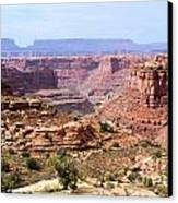 Needles Grand Canyon Canvas Print by Adam Jewell
